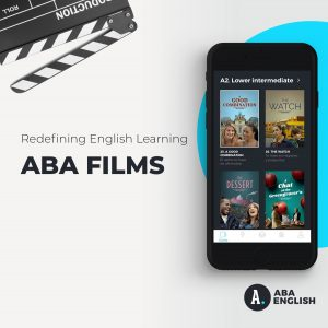 Ứng dụng Aba English with films
